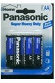 Panasonic A A Battery - 4 Pack